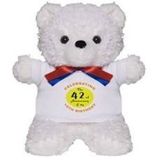 60th Birthday Anniversary Teddy Bear