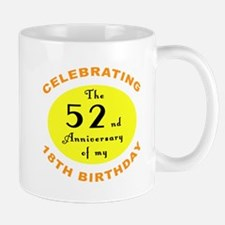 70th Birthday Anniversary Mug