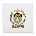 SOUCIER Family Crest Tile Coaster
