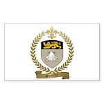 SOUCIER Family Crest Sticker (Rectangle 50 pk)