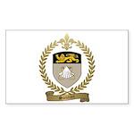 SOUCIER Family Crest Sticker (Rectangle 10 pk)