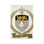SOUCIER Family Crest Rectangle Magnet