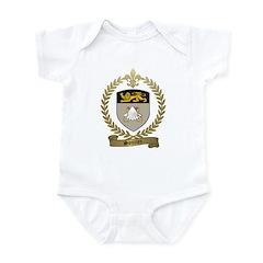 SOUCIER Family Crest Infant Bodysuit