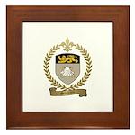 SOUCIER Family Crest Framed Tile