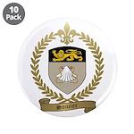 """SOUCIER Family Crest 3.5"""" Button (10 pack)"""