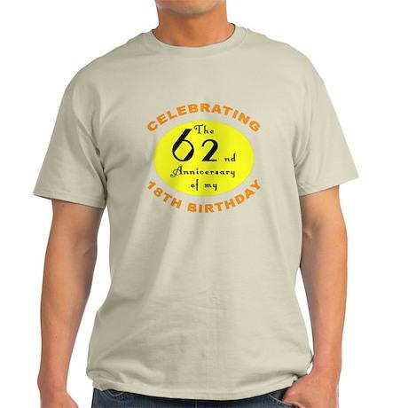 80th Birthday Anniversary Light T-Shirt