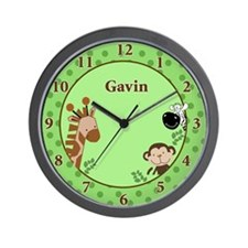 Jungle Adventure Wall Clock - GAVIN