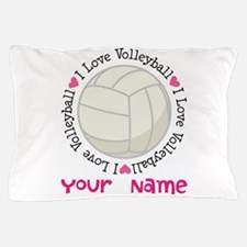 Cute Volleyball Pillow Case