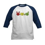 Bunnies Kids Baseball Jersey