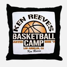 Ken Reeves Camp Throw Pillow