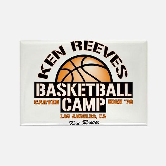 Ken Reeves Camp Rectangle Magnet