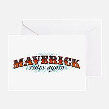 Maverick Greeting Card
