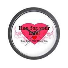 Run for your Life! Wall Clock