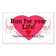 Run for your Life! Decal