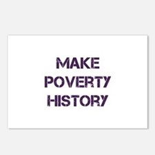 Make Poverty History Postcards (Package of 8)