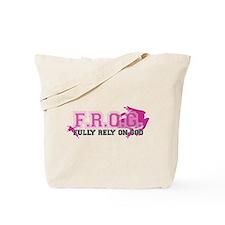 FROG pink Tote Bag