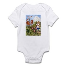 ALICE & THE TALKING FLOWERS Infant Bodysuit