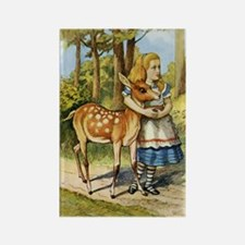 ALICE & THE DOE Rectangle Magnet