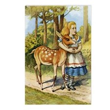 ALICE & THE DOE Postcards (Package of 8)