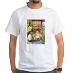 ALICE & THE OLD SHEEP White T-Shirt