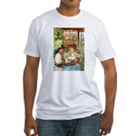 ALICE & THE OLD SHEEP Fitted T-Shirt