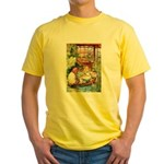 ALICE & THE OLD SHEEP Yellow T-Shirt