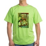 ALICE & THE OLD SHEEP Green T-Shirt