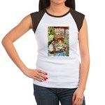 ALICE & THE OLD SHEEP Women's Cap Sleeve T-Shirt