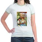 ALICE & THE OLD SHEEP Jr. Ringer T-Shirt
