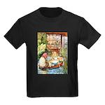 ALICE & THE OLD SHEEP Kids Dark T-Shirt