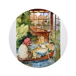 ALICE & THE OLD SHEEP Ornament (Round)