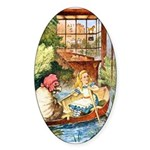 ALICE & THE OLD SHEEP Sticker (Oval)