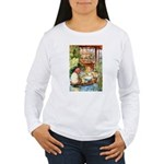 ALICE & THE OLD SHEEP Women's Long Sleeve T-Shirt