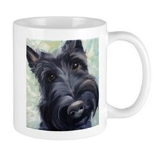Cute Westie and scottish terrier Mug