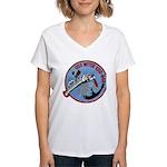 USS WITEK Women's V-Neck T-Shirt