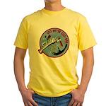 USS WITEK Yellow T-Shirt