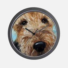 Unique Terrier Wall Clock