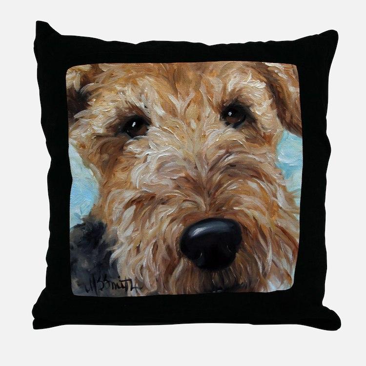 Cute Terrier Throw Pillow