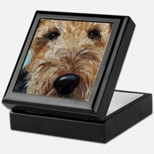 Cute Terrier Keepsake Box