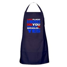 Do You Believe in Miracles? Apron (dark)