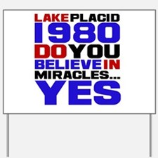 Miracle on Ice 1980 Yard Sign