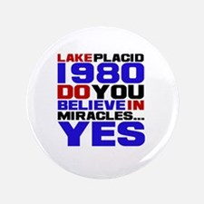 """Miracle on Ice 1980 3.5"""" Button"""