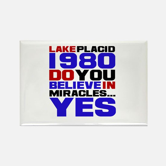 Miracle on Ice 1980 Rectangle Magnet