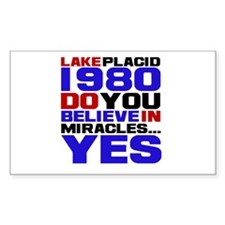 Miracle on Ice 1980 Decal