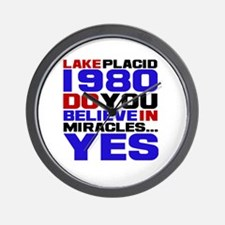 Miracle on Ice 1980 Wall Clock