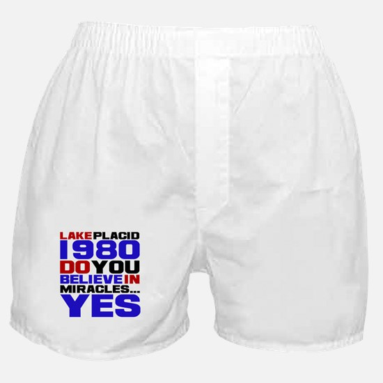 Miracle on Ice 1980 Boxer Shorts