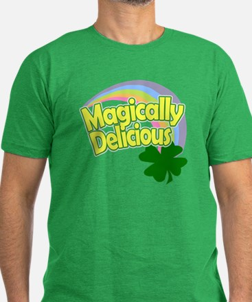 Magically Delicious Pa Men's Fitted T-Shirt (dark)