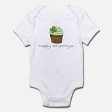 St. Patty's Day Cupcake Infant Bodysuit