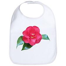 Red Camellia Bib