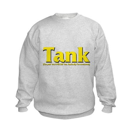 Tank - I'll pull 'em AND kill Kids Sweatshirt
